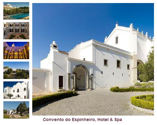 Convento do Espinheiro - Foto Site Oficial ©