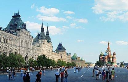 Praça Vermelha - Moscou - Foto de  Alvesgaspar © - Wikipédia