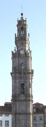 Relógio da Torre dos Clérigos - Porto