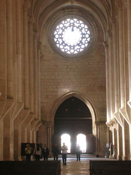 Porta de Saída do Mosteiro de Alcobaça