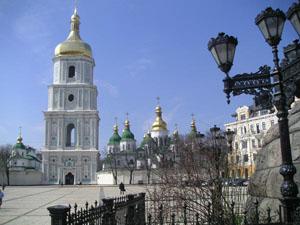 Catedral Santa Sofia em Kiev - Ucrania