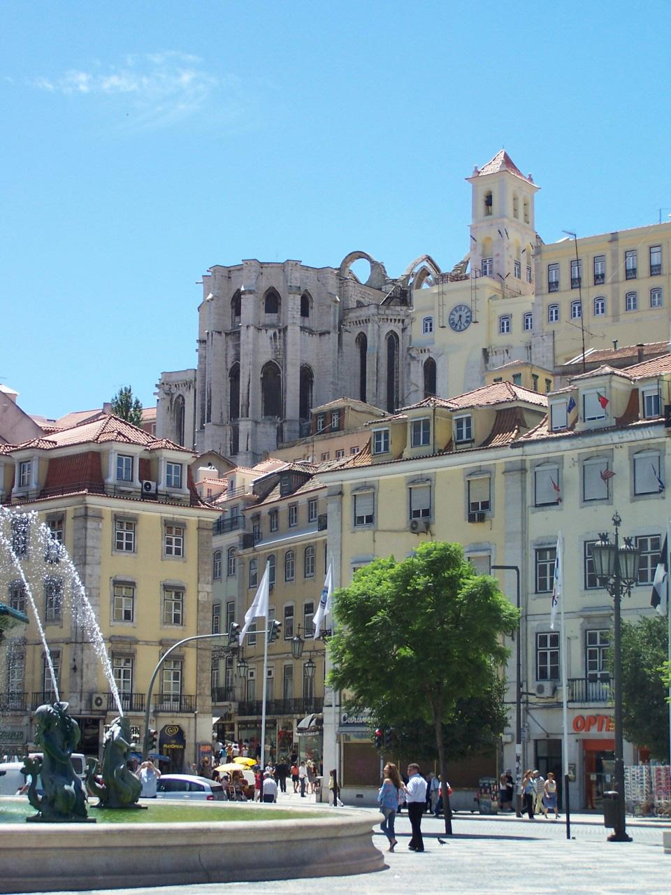 Praça do Rossio - Lisboa