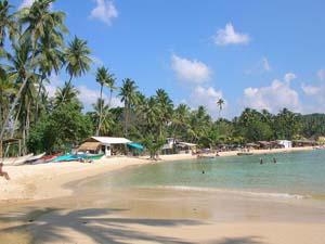 Praia Unawatuna - Sri Lanka