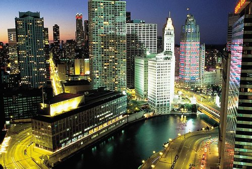 Chicago a noite!