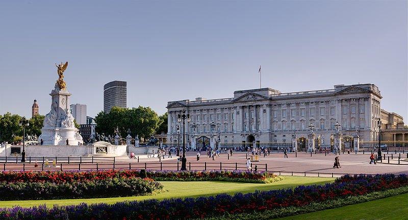 Palácio de Buckinghan em Londres