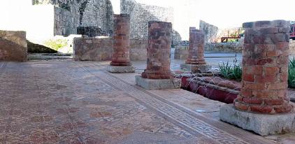 Chão de Mosaico - Ruinas de Conímbriga