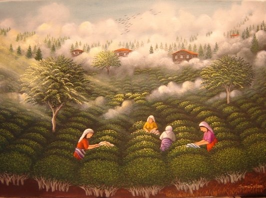 Tea Garden - Sema Çulam