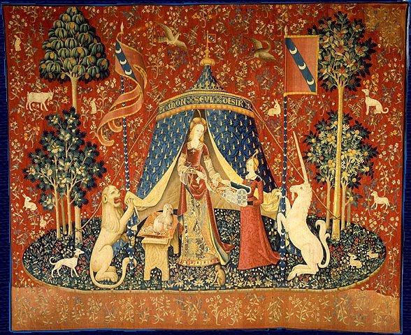 A Dama e o Unicórnio - Obra exposta no Museu de Cluny - Wikipédia