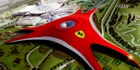 Ferrari World Abu Dhabi Theme Park ©