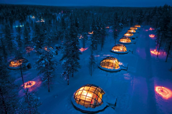 Iglus – Hotel Kakslauttanen Finlândia