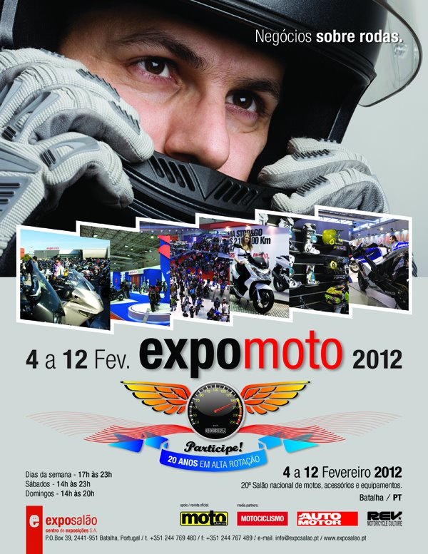Expomoto-Almoço convívio.12 de fevereiro(lista atualizada pág.2) Expo-moto-2012
