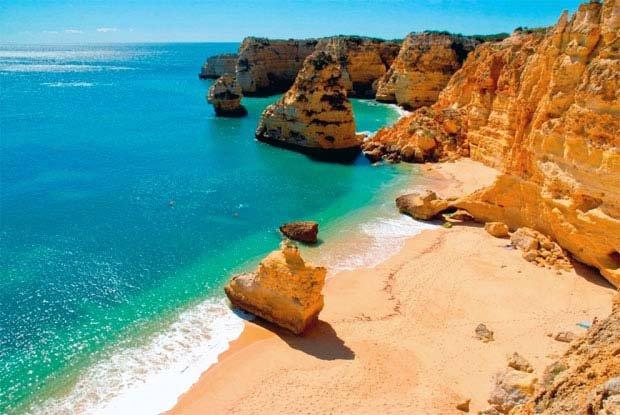 Praia de Arriba Marinha DR - Imagem Fugas ©