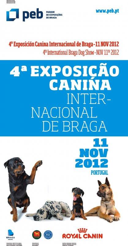 Exposição Internacional Canina de Braga 2012