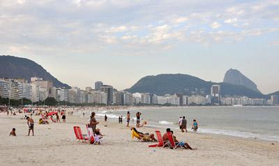 Foto de Chensiyuan © (Wikipédia) - Praia de Copacabana - Rio de Janeiro