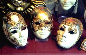 Máscaras Venezianas - Foto Miro © - Wikipédia
