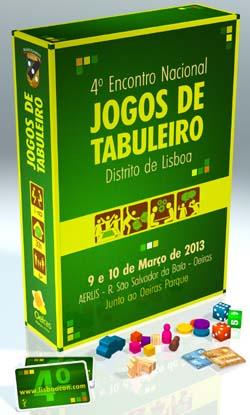 Lisboacon 2013 - 4º Encontro Nacional de Jogos de Tabuleiro