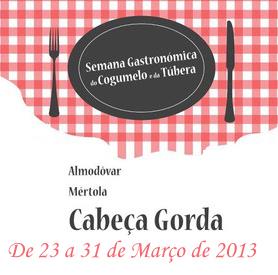 I Semana Gastronómica do Cogumelo e da Túbera