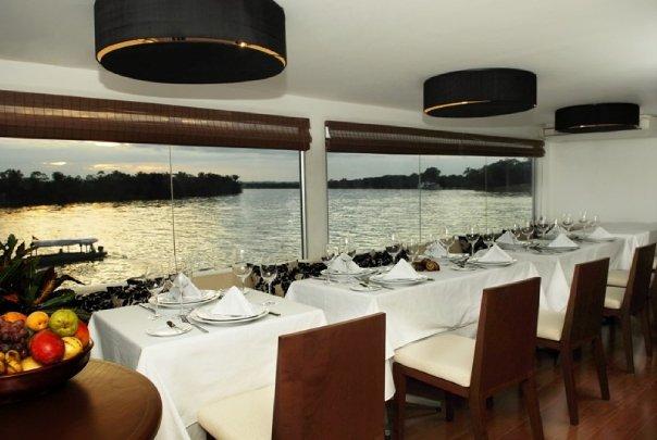 Restaurante - Hotel flutuante Aqua