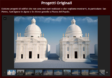 Roma Antiga - Site em 3D