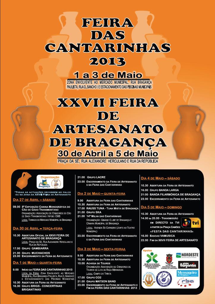 Feira das Cantarinhas e Artesanato de Bragança 2013