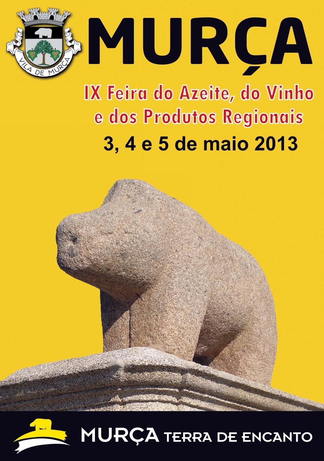 IX Feira do Azeite, do Vinho e dos Produtos Regionais em Murça