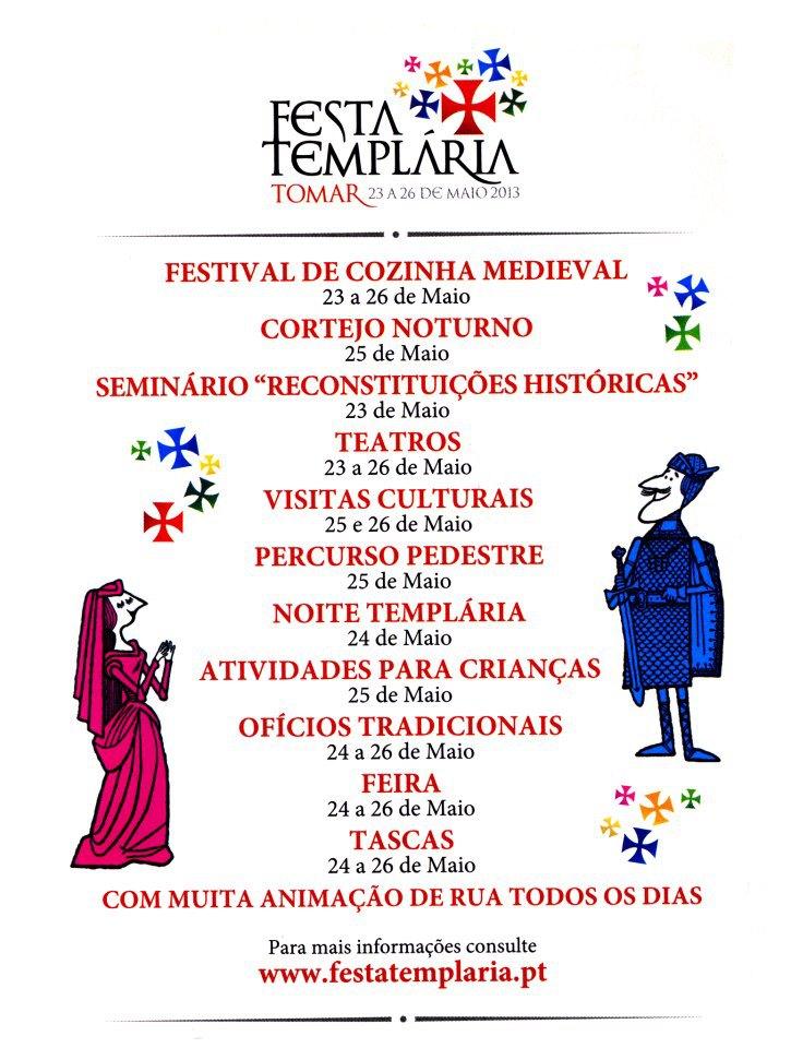 Festa Templária – Tomar 2013