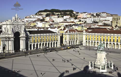 Praça do Comércio em Lisboa - Foto Site Oficial Hotel Avenida Palace - Direitos Reservados ©