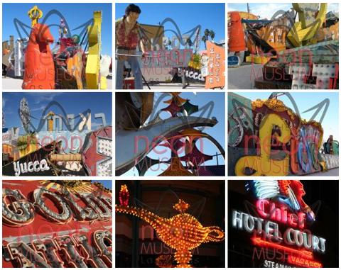 Museu Neon em Las Vegas