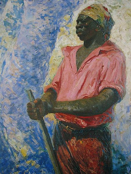 Zumbi dos Palmares - Obra de  Antônio Parreiras (1860–1937)