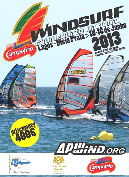 Campeonato Windsurf em Portugal