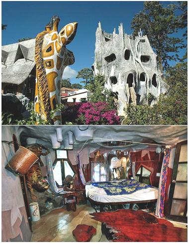 Hotel Crazy-House Vietnam - Foto Divulgação ©