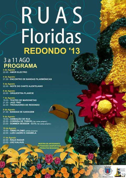 Festas Ruas Floridas no Alentejo - 2013