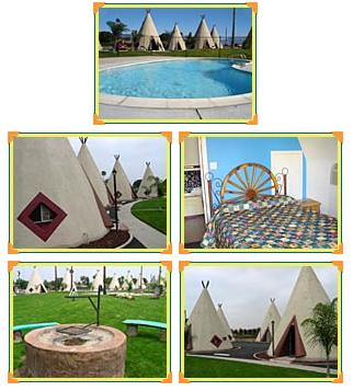 Hotel Indígena Wigwam na Califórnia