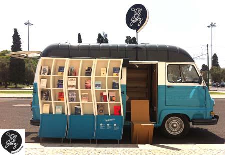 Livraria móvel circula por Lisboa - TELL A STORY