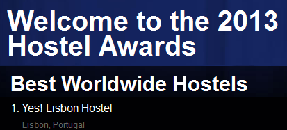 Os melhores hostels de 2013