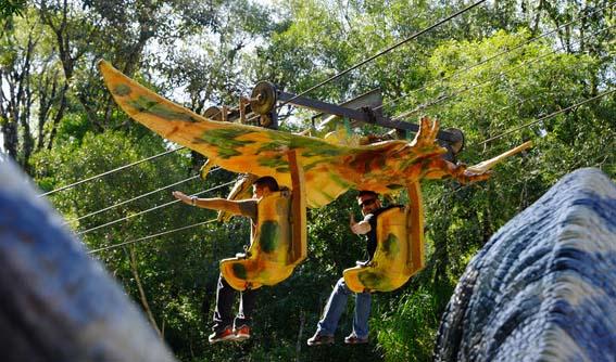Vôo do pterodáctilo - Foto Site Oficial Florybal ©