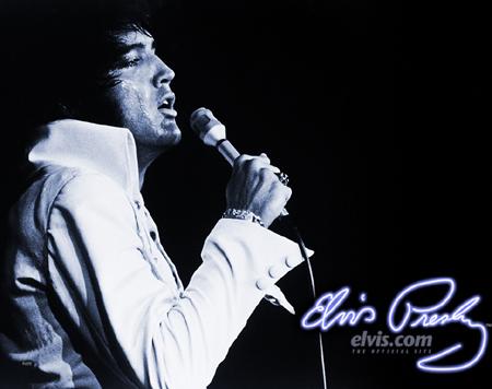 Elvis Presley - Foto Site Oficial Elvis.com ©