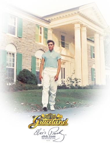 Graceland - Mansão de Elvis Presley - Foto Site Oficial Elvis.com ©