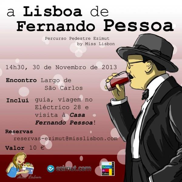 Passeio A Lisboa de Fernando Pessoa