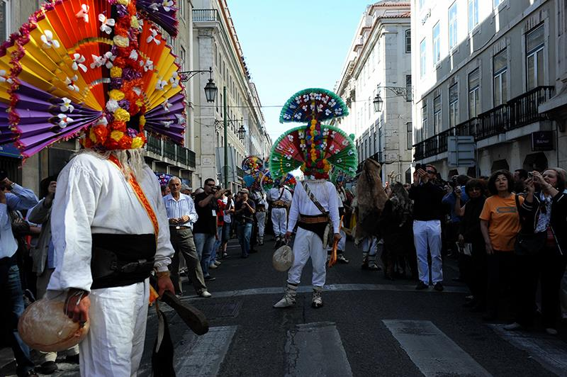 Llamas de La Ribera - VIII Desfile Máscara Ibérica - Lisboa Progestur - Nuno Feliz ©