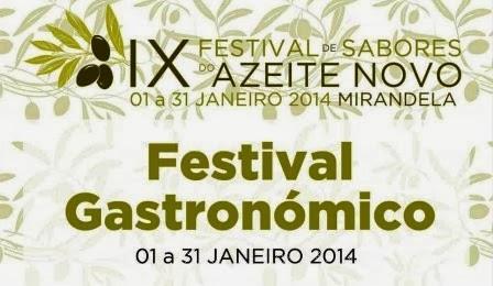 Festival de Sabores do Azeite Novo em Mirandela