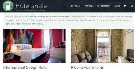 Os melhores hotéis portugueses em Hotelandia