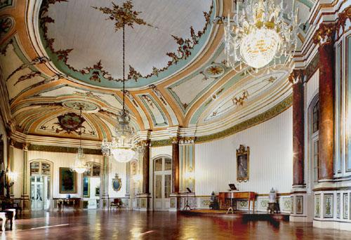Sala de Música - Palácio de Queluz - PSML - Foto de Carlos Pombo ©