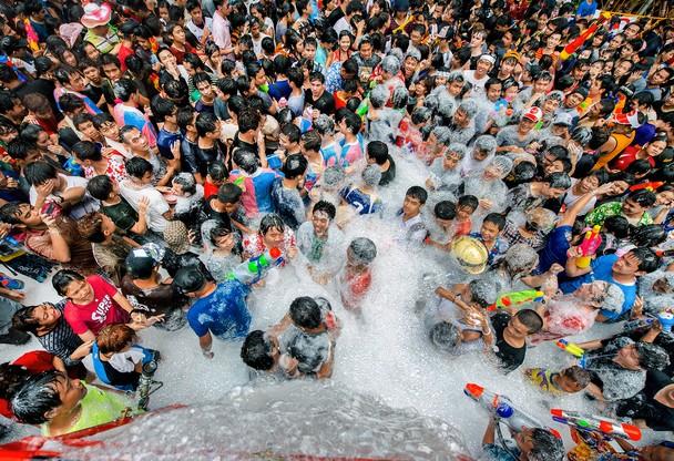 Songkran Festival – Tailândia Foto de Kate Xiao © - Fonte: National Geographic