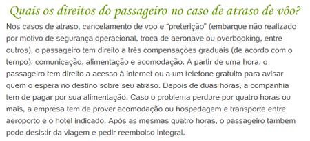 Direito do Passageiro em atraso de vôo