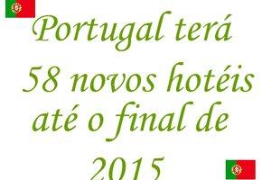 Portugal vai ter 58 novos hotéis