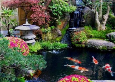 Jardim Rikugien, em Tóquio, no Japão - Foto Revista Veja ©
