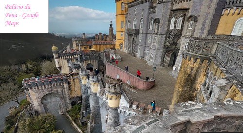 Google Maps Palácio Pena
