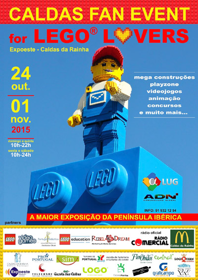 Caldas Fan Event – For LEGO® Lovers