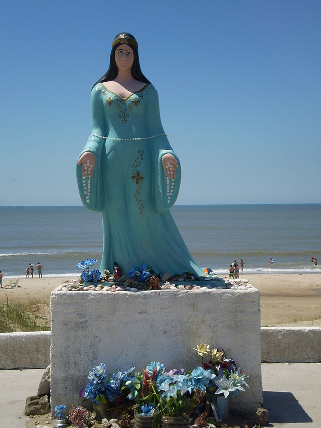 Iemanjá - Foto de FrancoBras © - Imagem Wikipédia